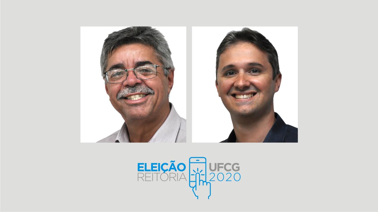 Vicemário Simões e Camilo Farias são reeleitos para o reitorado 2021-2024