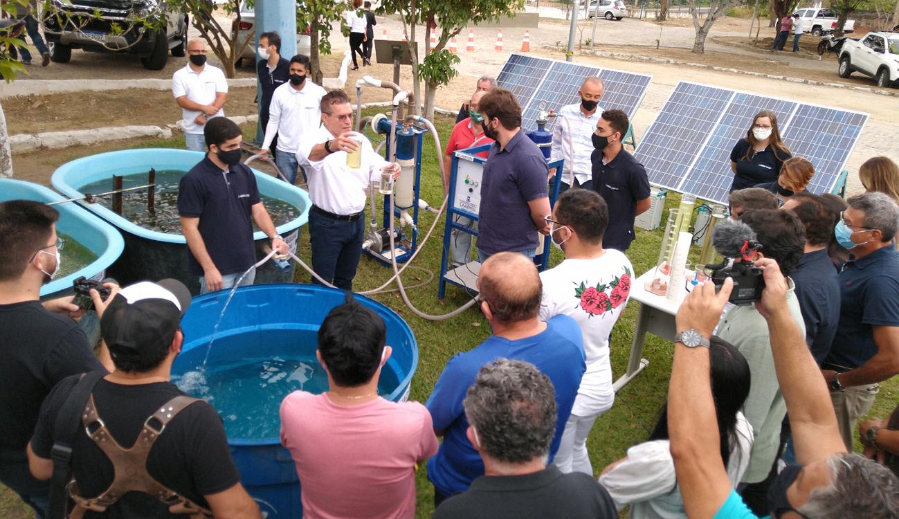 UFCG apresenta pesquisas de combate à escassez de água potável
