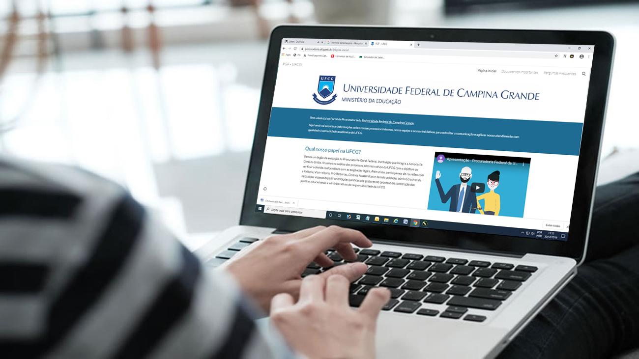 Lançada página da Procuradoria Federal da UFCG